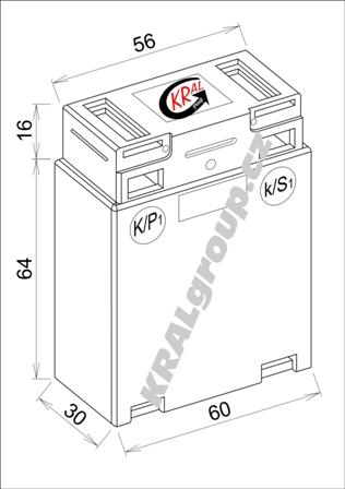 Elektroměr Závitové provedení-6W0.3