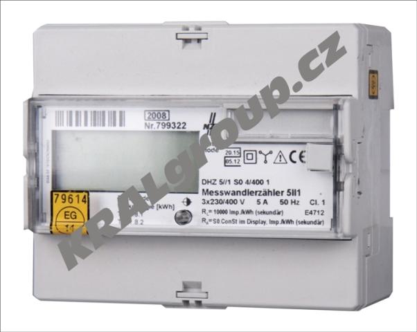 Elektroměr přímé zapojení-DHL-U 65A