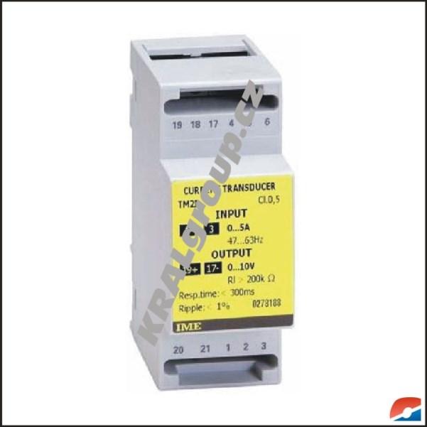 Elektroměr s vlastním napájením-TM2I 1A; 0...5mA