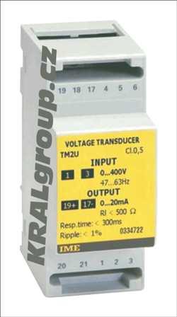 Elektroměr s vlastním napájením-TM2U 100V; 0...5mA