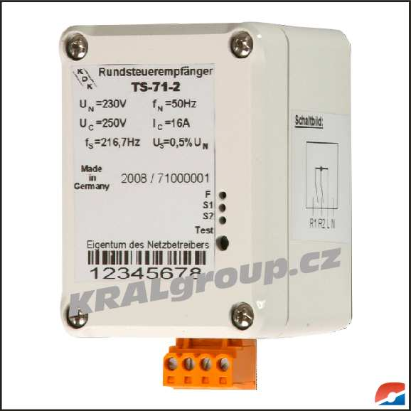 Elektroměr Přijímač HDO-TS-71-2